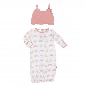 Kickee Pants Layette  Gown