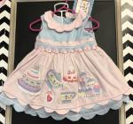 Cotton Kids Tea Party Dress Style Ck3532