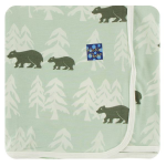 KK Swaddle Aloe Bears and Treeline