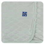 KK Swaddle Iridescent Mermaid Scales