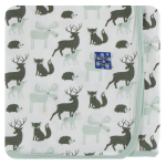 KK Swaddle Natural Forest Animals