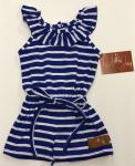 Millie Jay Sadie Romper Royal Stripe ss21-640