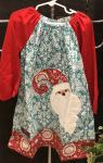 Millie Jay Santa Applique L/S Dress # FW19-503