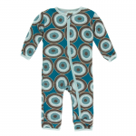 Toddler Coverall Heritage Blue Agate Slices