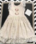 Haute Baby Dress VPB05 Peach Blush