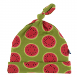 Infant Knot Hat NB-3 months Grasshopper Watermelon