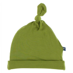 Infant Solid Knot Hat NB-3 months Grasshopper