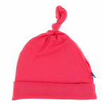 Infant Solid Knot Hat NB-3 months Red Ginger
